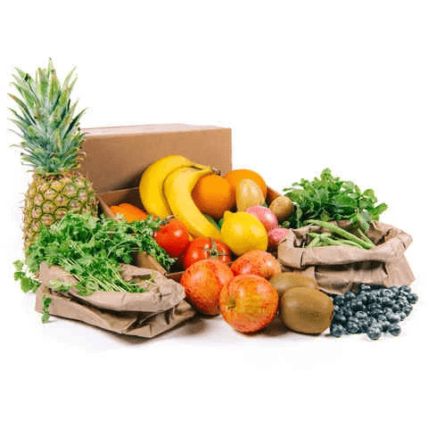 Fresh Fruits and Vegetables Box (Small) - 2kShopping.com - Grocery | Health | Technology