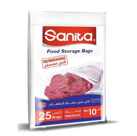 Sanita Food Storage Bags Biodegrdable #10 25 Bags... - 2kShopping.com - Grocery | Health | Technology