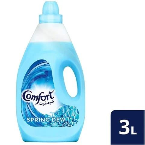 Comfort Fabric Softener Spring Dew 3L - 2kShopping.com - Grocery | Health | Technology
