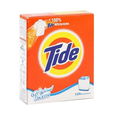 Tide Laundry Detergent Powder Top Load Original Scent 110g - 2kShopping.com - Grocery | Health | Technology