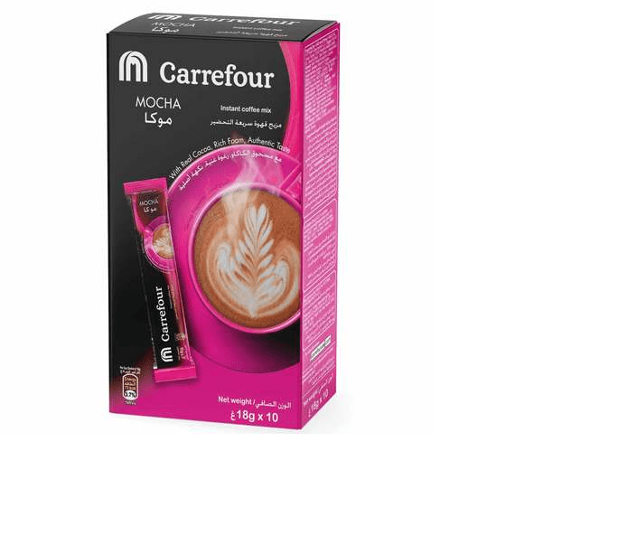 Carrefour Instant Coffee Mix Mocha 18gx10 - 2kShopping.com - Grocery | Health | Technology