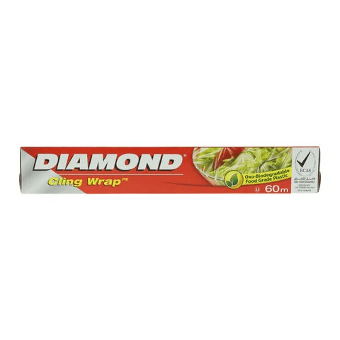 Diamond Cling Wrap 200ft - 2kShopping.com - Grocery | Health | Technology