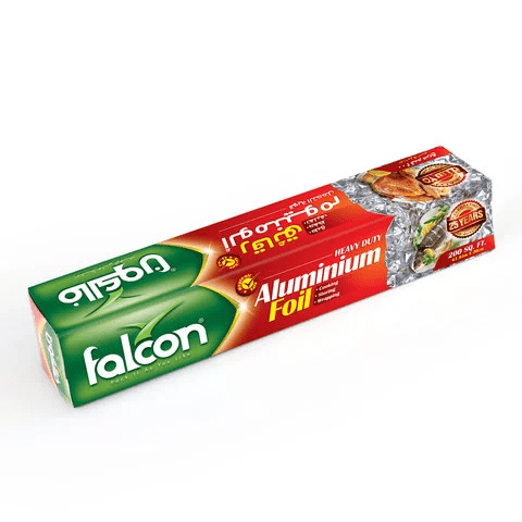 Falcon Aluminium Foil Paper 200 Sq. cccc - 2kShopping.com - Grocery | Health | Technology