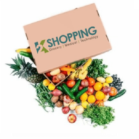 Fresh Fruits and Vegetables Box (Large) - 2kShopping.com - Grocery | Health | Technology