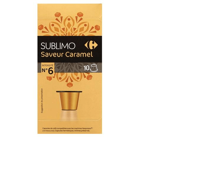 Carrefour Capsules Caramel Coffee 52g - 2kShopping.com - Grocery | Health | Technology