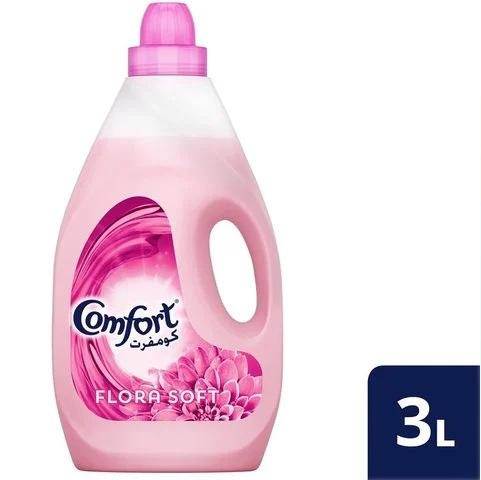 Comfort Fabric Softener Flora Soft 3L - 2kShopping.com - Grocery | Health | Technology