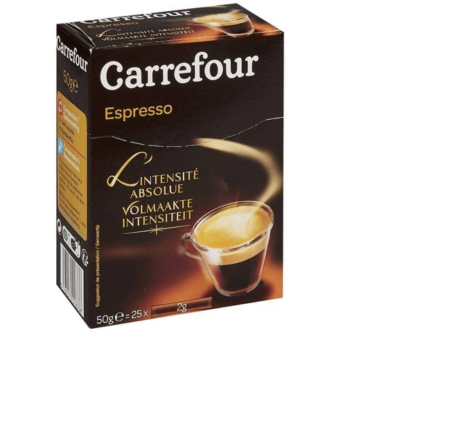 Carrefour Instant Coffee Espresso 25g x Pack of 2 - 2kShopping.com - Grocery | Health | Technology
