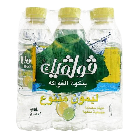 Volvic Touch of Fruit Lemon & Lime Water 500mlx6 - 2kShopping.com