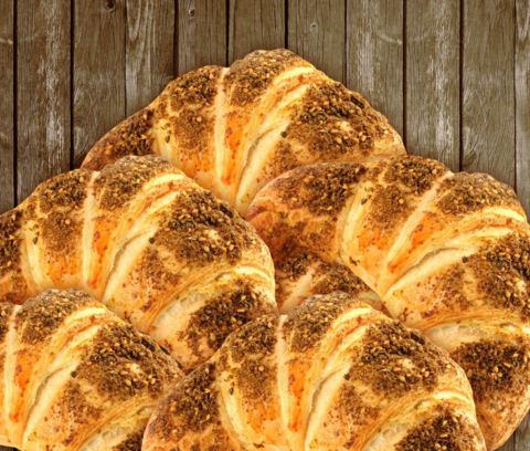 Zaatar Croissants 5-Piece Pack - 2kShopping.com - Grocery | Health | Technology