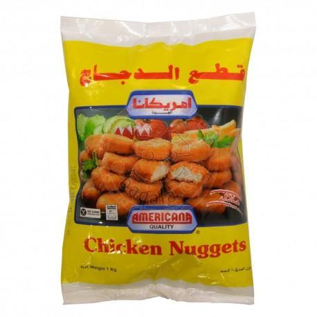 Americana Chicken Nugget 1 Kg - 2kShopping.com - Grocery | Health | Technology