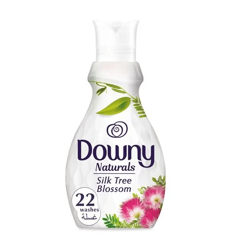 Downy Naturals Concentrate Fabric Softener Silk Tree Blossom Scent 880 ML - 2kShopping.com - Grocery | Health | Technology