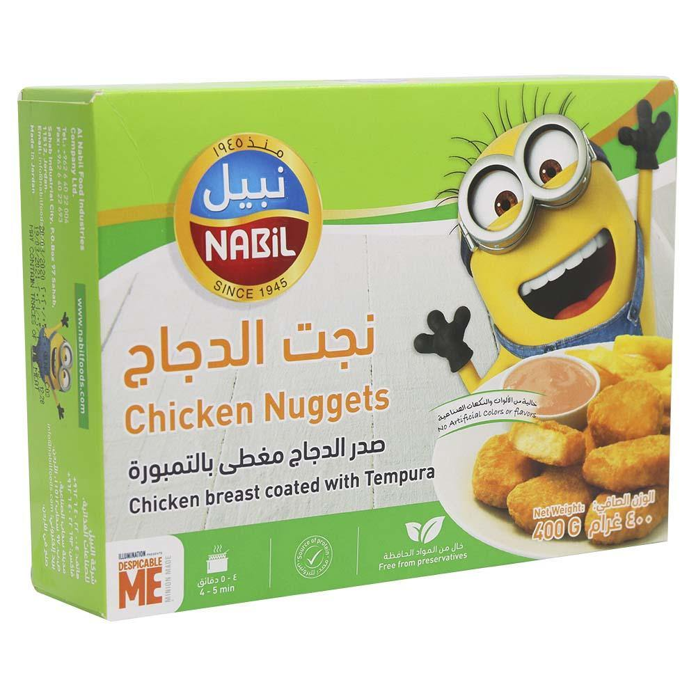 Nabil Chicken Nuggets Tempura Pack of 12x 400GM - 2kShopping.com - Grocery | Health | Technology