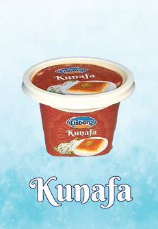 Eisberg Ice Cream Kunafa Cups 180ml - 2kShopping.com - Grocery | Health | Technology