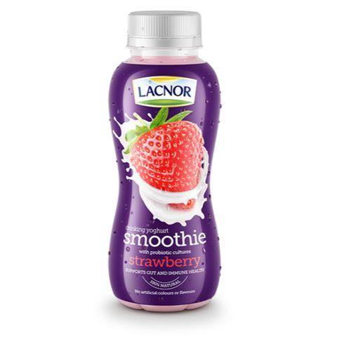 Lacnor Drinking Yoghurt Smoothie Strawberry 330ml - 2kShopping.com - Grocery | Health | Technology