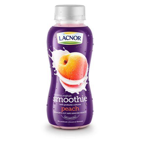 Lacnor Drinking Yoghurt Smoothie Peach 330ml - 2kShopping.com - Grocery | Health | Technology