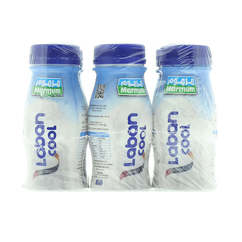 Marmum Natural Laban Cool, Pack of 6 x 200 ML - 2kShopping.com - Grocery | Health | Technology