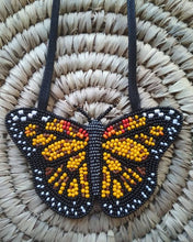 Load image into Gallery viewer, Monarch Butterfly Necklace