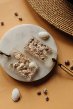 Load image into Gallery viewer, Rectangular Sea Shell Necklace