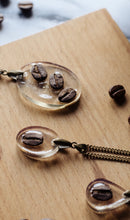 Load image into Gallery viewer, Oval Coffee Bean Necklace