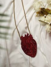 Load image into Gallery viewer, Anatomic Heart Necklace