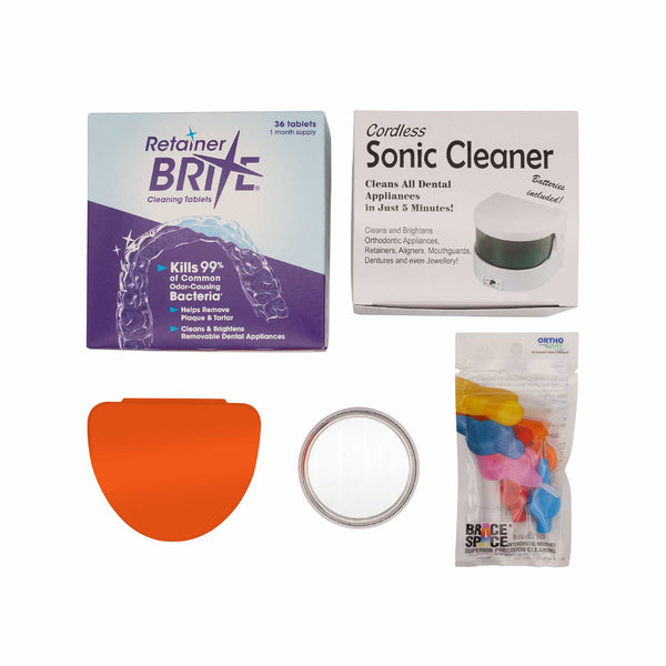 Orthodontic Retainer Home Care Pack