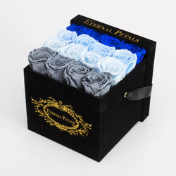 COOL OMBRE | BLACK FLOWER BOX