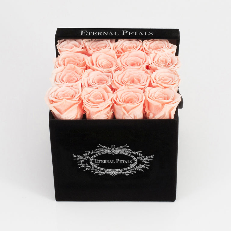 DELICIOUS | BLACK FLOWER BOX
