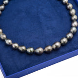 Jumbo Tahitian Pearl Necklace with 14k Yellow Gold Clasp - Artisan Carat