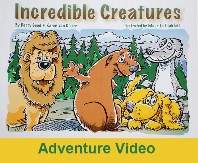 Incredible Creatures Adventure Video