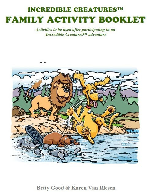 Family activity booklet | Incredible Creatures