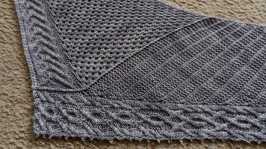 Beauty and the Beast Shawl
