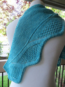 Refracted Waves Shawl