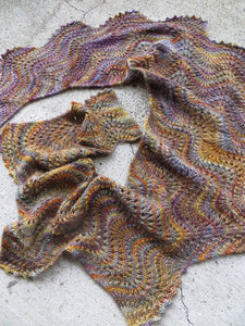 Glass Beach Shawl