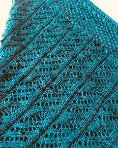 Curling Fern Shawl