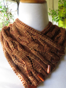 Rooted Cowl and Scarf