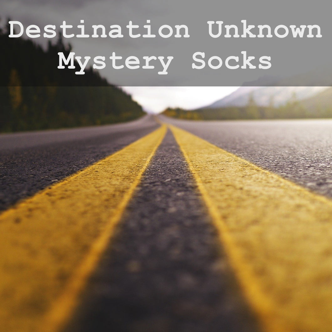 Destination Unknown Socks