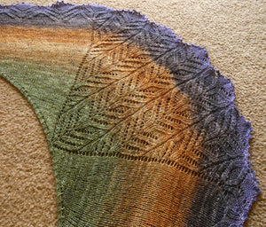 Unfurling Fern Shawl