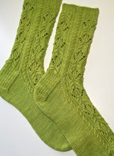 Load image into Gallery viewer, Woodland Sage Socks