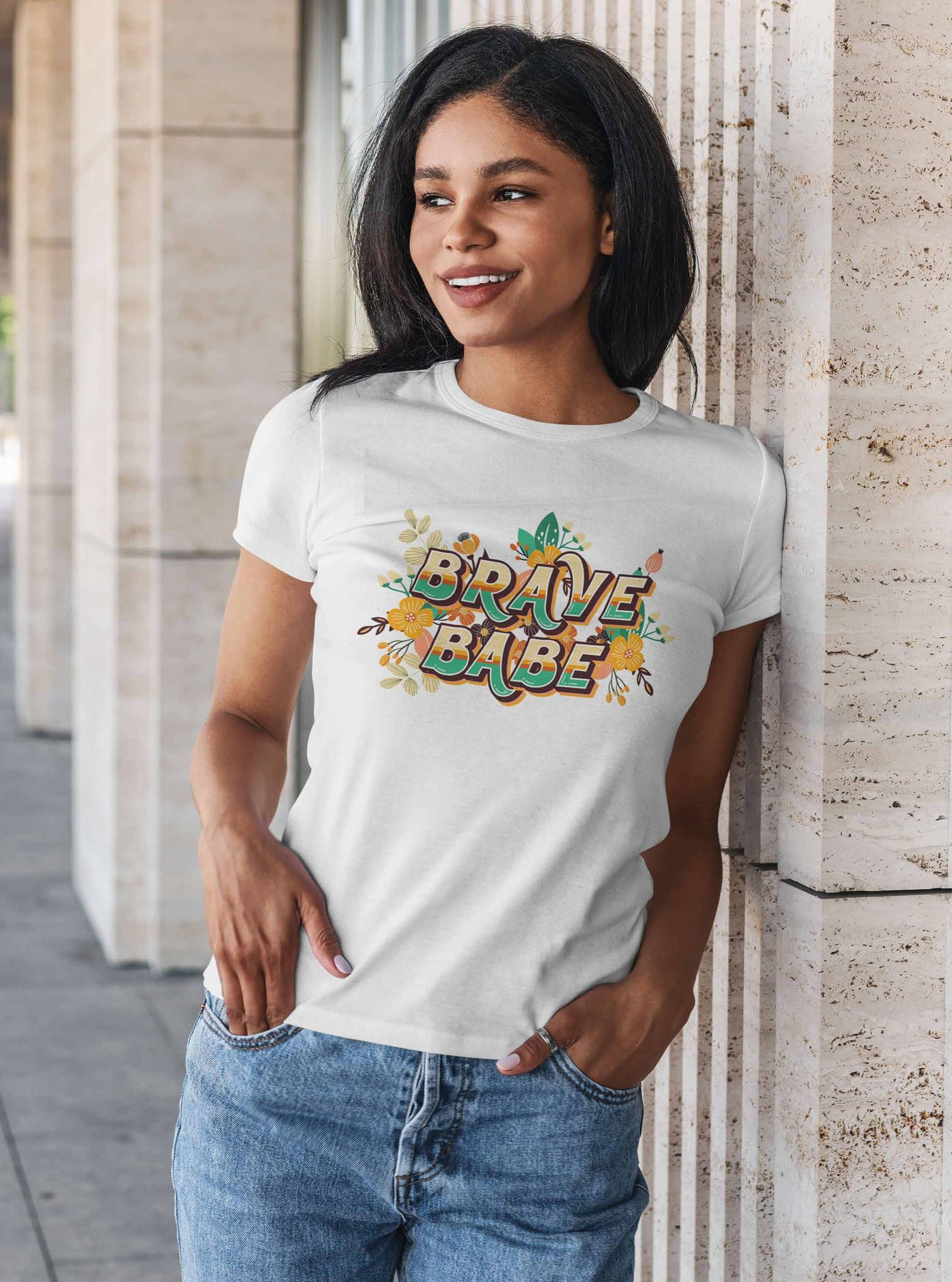 Brave Babe - Graphic Tee