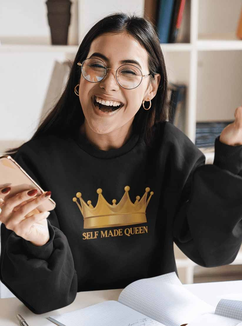 Self Made Queen Sweatshirt