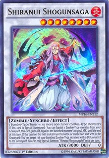 Shiranui Shogunsaga [MP16-EN212] Ultra Rare | Tabletop Cards