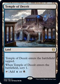 Temple of Deceit [Theros Beyond Death] | Tabletop Cards