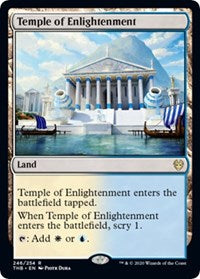 Temple of Enlightenment [Theros Beyond Death] | Tabletop Cards