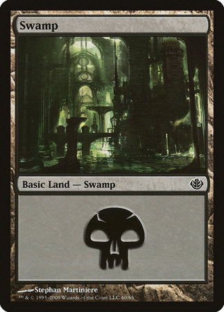 Swamp (60) [Duel Decks: Garruk vs. Liliana] | Tabletop Cards