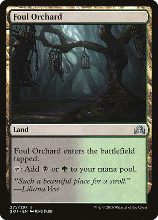 Foul Orchard [Shadows over Innistrad] | Tabletop Cards