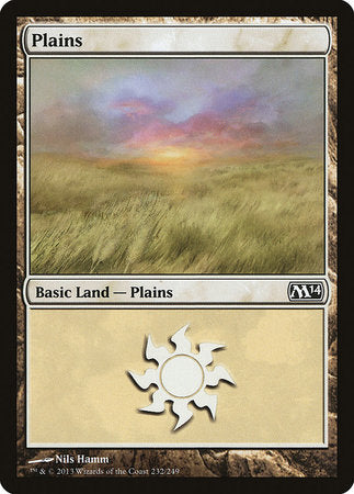 Plains (232) [Magic 2014] | Tabletop Cards