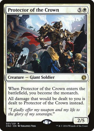 Protector of the Crown [Conspiracy: Take the Crown] | Tabletop Cards