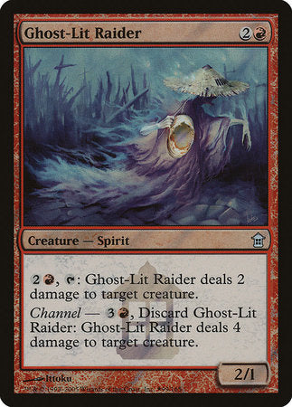Ghost-Lit Raider [Release Events] | Tabletop Cards