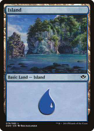 Island (76) [Duel Decks: Speed vs. Cunning] | Tabletop Cards