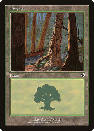 Forest (348) [Invasion] | Tabletop Cards